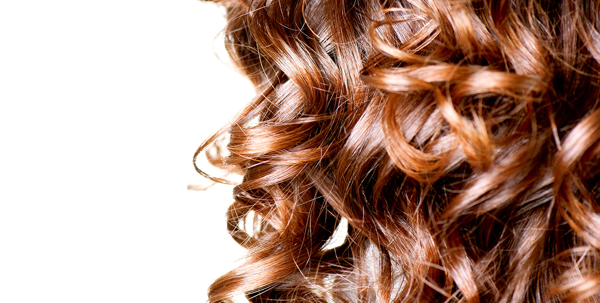 Soft curls for Autumn haircare