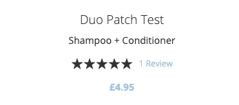 Patch Test Price.