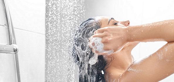 wash gently.